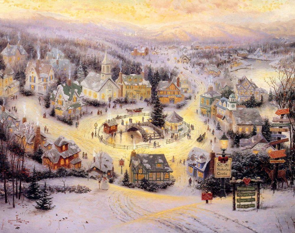 Дивовижні різдвяні картини, які створять святковий настрій  - фото 3