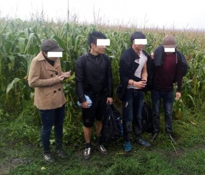 Харківські прикордонники затримали групу в'єтнамських нелегалів - фото 1