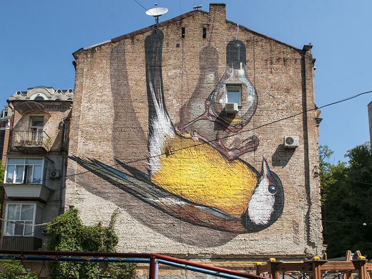 Усі мурали Києва (Частина 1) - фото 1