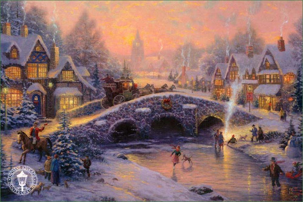 Дивовижні різдвяні картини, які створять святковий настрій  - фото 2