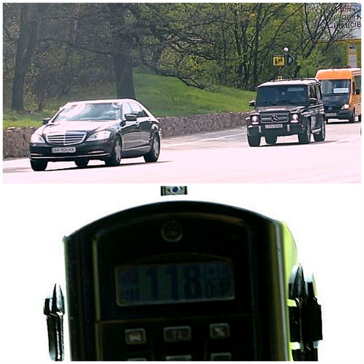 Тимошенко мчить у Раду: перевищує швидкість на 70 км/ год (ВІДЕО) - фото 1