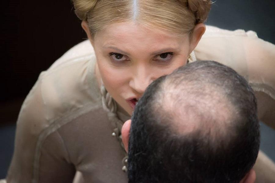 Як Тимошенко з косою ставала в пози та шепотілася в Раді (ФОТО) - фото 2