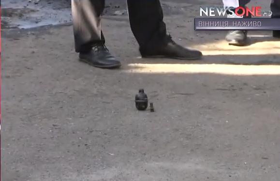 У Вінниці біля хлібзаводу знайшли дві гранати - фото 1