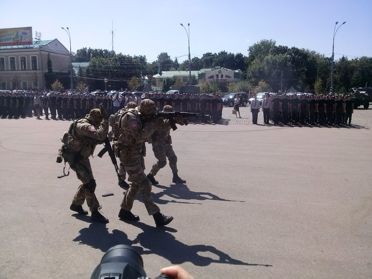Як у Харкові святкують річницю Національної поліції  - фото 2