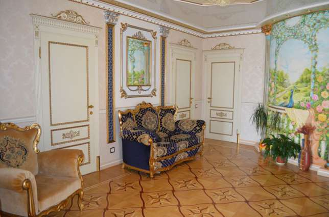 У київській квартирі пшонка-стайл поєднали з українською етнікою - фото 3