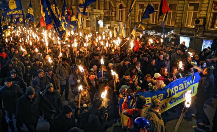 Хроніка Революції Гідності: Новий рік на Майдані і день народження Степана Бандери - фото 9