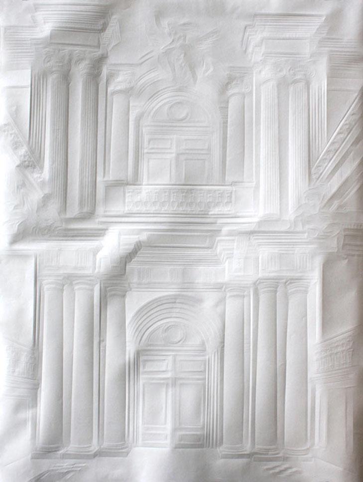 Картины без кисти Как рисуют бумажные сюжеты - фото 2