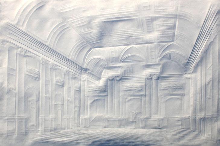 Картины без кисти Как рисуют бумажные сюжеты - фото 3