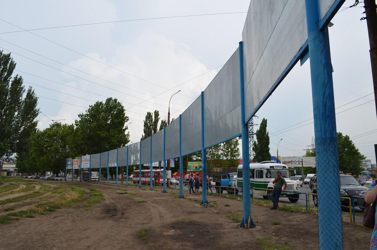 """У Миколаєві демонтували всі """"пеліпіпасівськ"""" борди біля автовокзала"""
