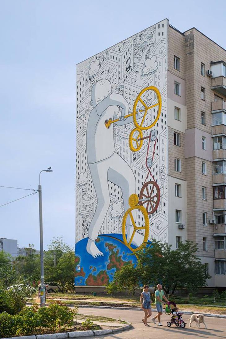 Каталог муралів Києва. Частина 3 - фото 41