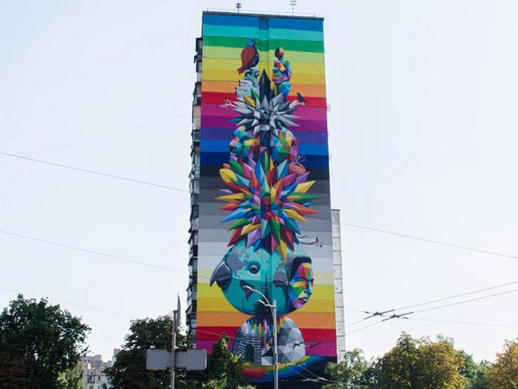 Каталог муралів Києва. Частина 2 - фото 32