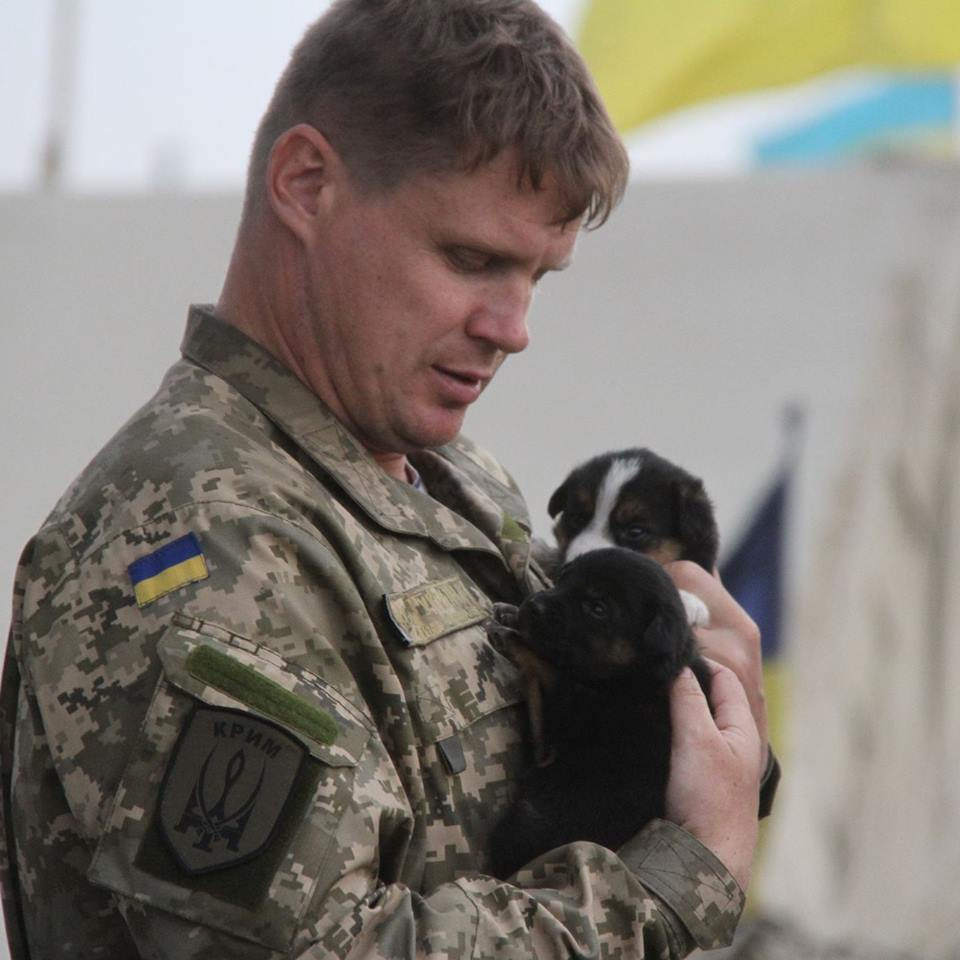Чим займаються на Донбасі найкращі друзі бійців АТО - фото 4
