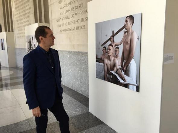 У Вашингтоні відкрилася виставка українського художника - фото 1