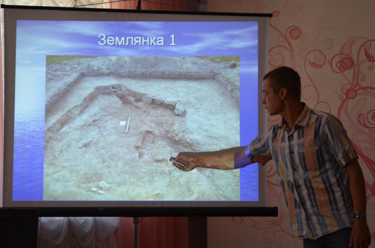 Землянка 5 ст. до н.е. і давні артефакти: миколаївцям представили результати розкопок Великої Коренихи