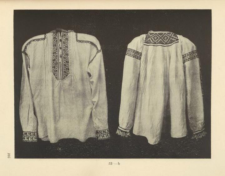 Якы вишиванки носили гуцули сто років тому - фото 6