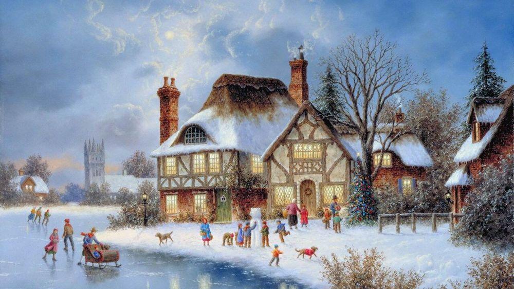Дивовижні різдвяні картини, які створять святковий настрій  - фото 1