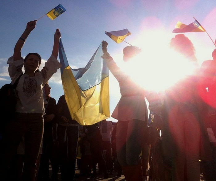 """Полк """"Азов"""" проводіть всеукраїнську акцію """"Вимоги нації - ні капітуляції!"""" ФОТОРЕПОРТАЖ (Оновлюється) - фото 2"""