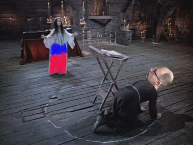 Яценюк та стіна з Росією (ФОТОЖАБИ) - фото 8