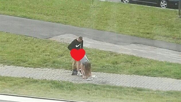 У Мінську пара зайнялася сексом прямо на тротуарі - фото 1