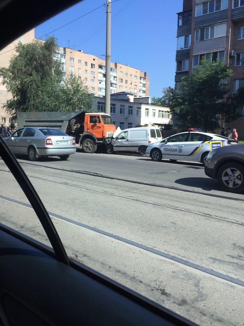 ДТП на улице Конева