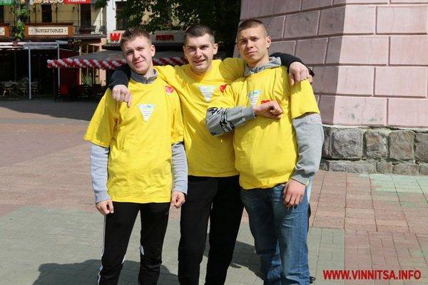 Вінничани бігли заради допомоги хворим дітям - фото 1