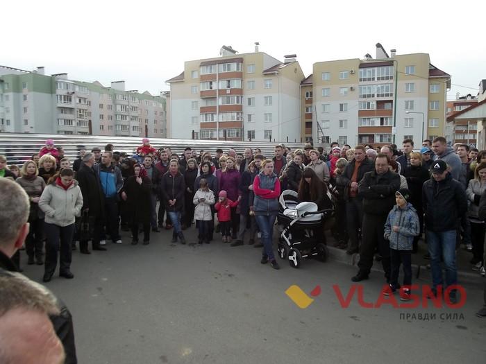 """Мешканці мікрорайону """"Академічний"""" виступають проти будівництва кладовища - фото 1"""