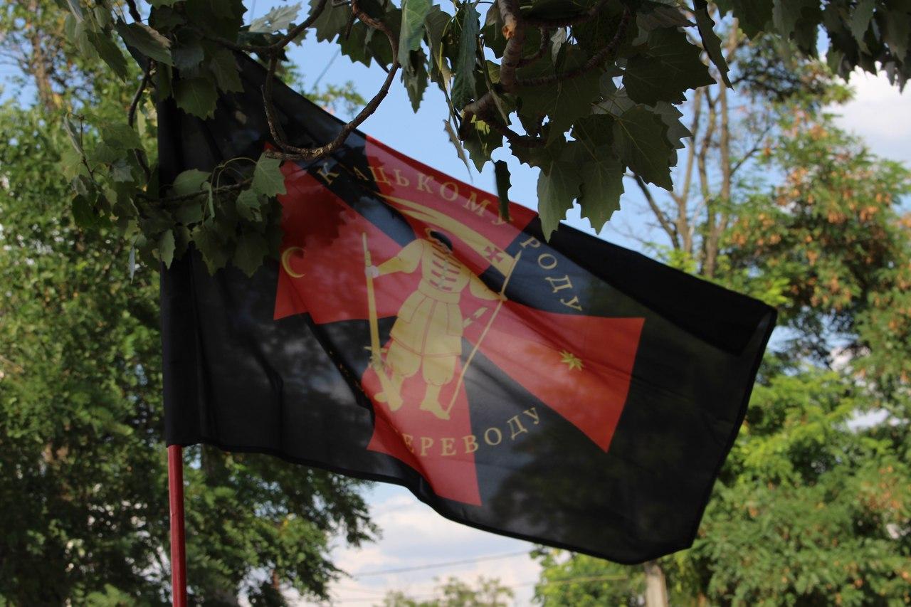 У річницю незалежності миколаївці пройшли мегамаршем вишиванок