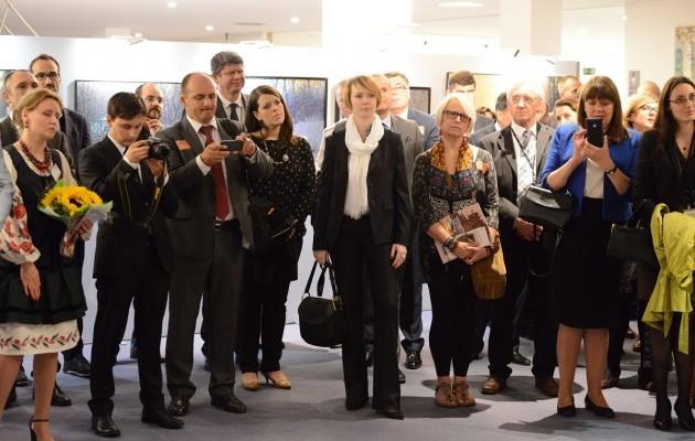 В Європарламенті стартувала виставка Марчука - фото 2