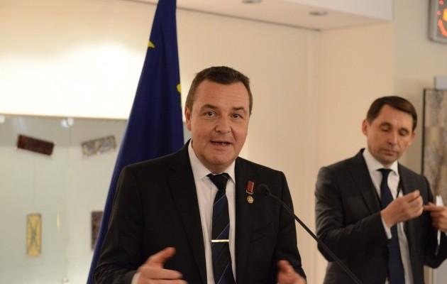 В Європарламенті стартувала виставка Марчука - фото 1
