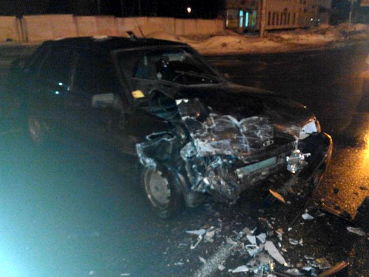 У Полтаві п'яний водій протаранив маршрутку з пасажирами - фото 2