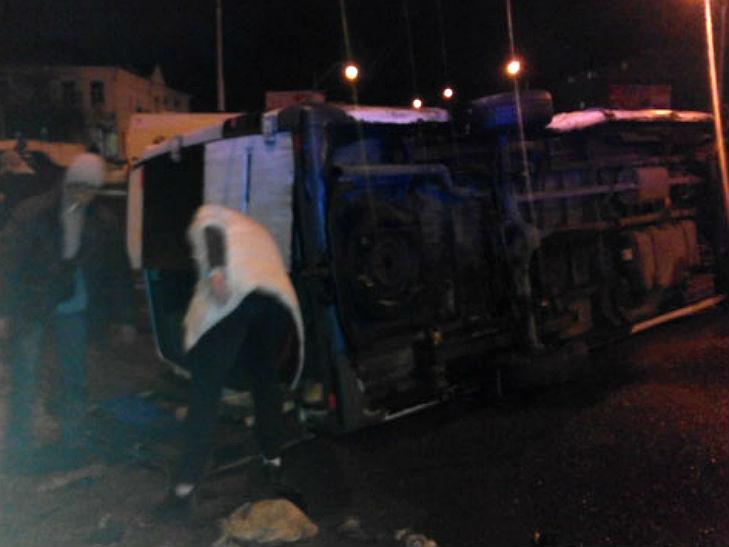 У Полтаві п'яний водій протаранив маршрутку з пасажирами - фото 3