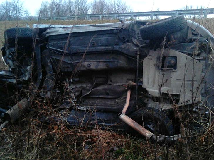 На Полтавщині харків'янин вщент розбив свою автівку - фото 2
