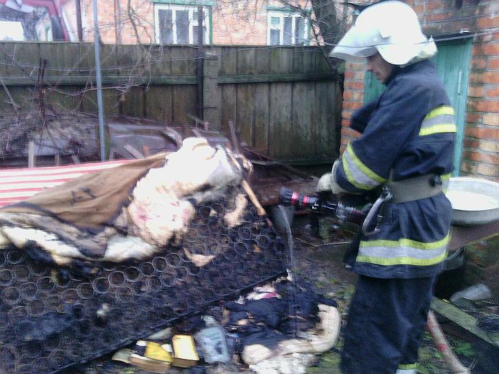 На Полтавщині в пожежі загинула 82-річна пенсіонерка - фото 1