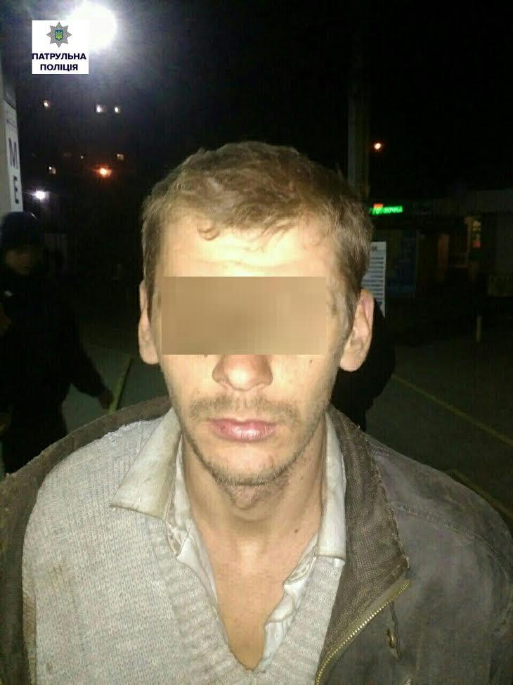 У Миколаєві затримали злодія, що поранив і пограбував чоловіка на Баштаншині