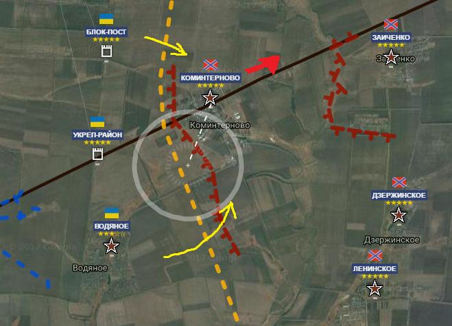 Маріупольський напрямок. Українська армія готується повернути Комінтернове та Октябрь (КАРТА) - фото 1