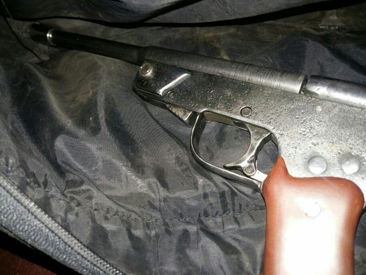 На Миколаївщині умілець виготовляв зброю за зразками Першої світової