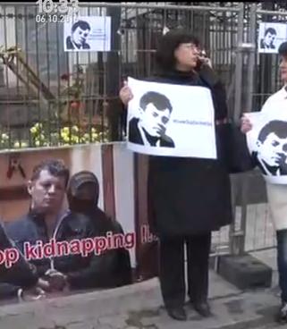 Журналісти пікетують російське посольство у Києві  - фото 1