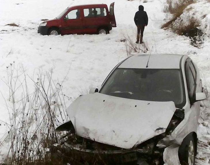 На Полтавщині Ford врізався у Citroen - фото 1