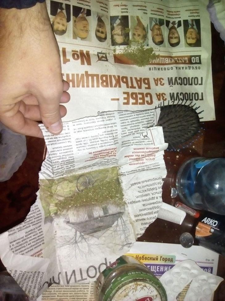 Лубенські поліціянти затримали чоловіка з кілограмом коноплі - фото 1