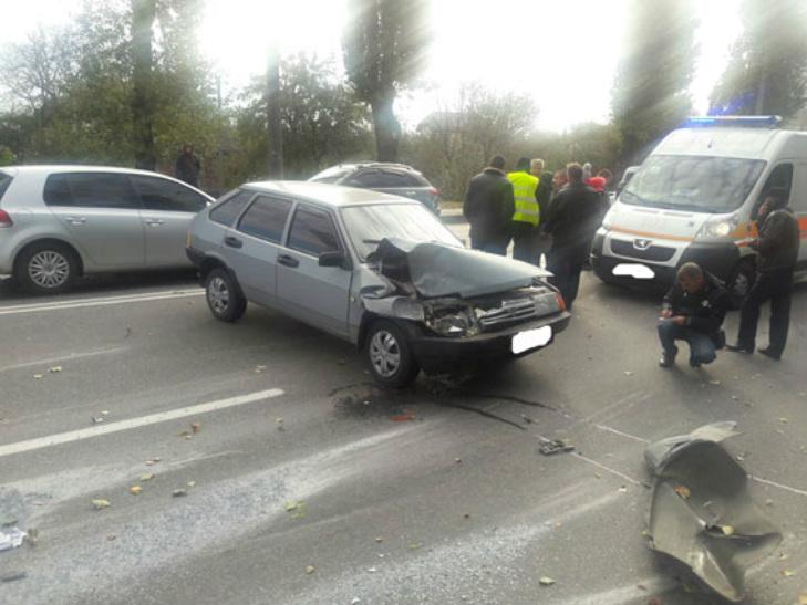 На Полтавщині маршрутка потрапила в ДТП - фото 1