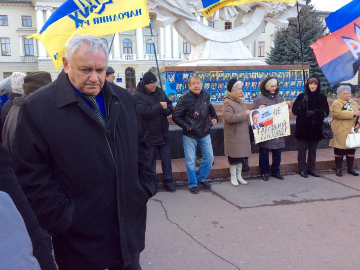 """У Хмельницькому мітингували """"проти зубожіння"""" - фото 4"""