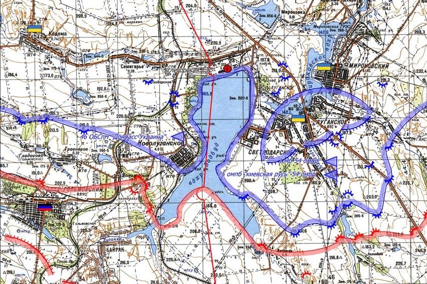 Навіщо українська армія зайшла у контрабандне Новолуганське - фото 1