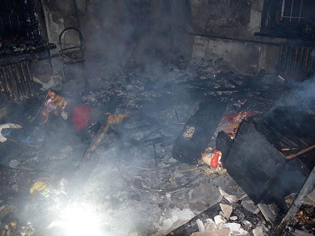 У Миколаєві через дитячі постощі загорівся гуртожиток: постраждав однорічний хлопчик