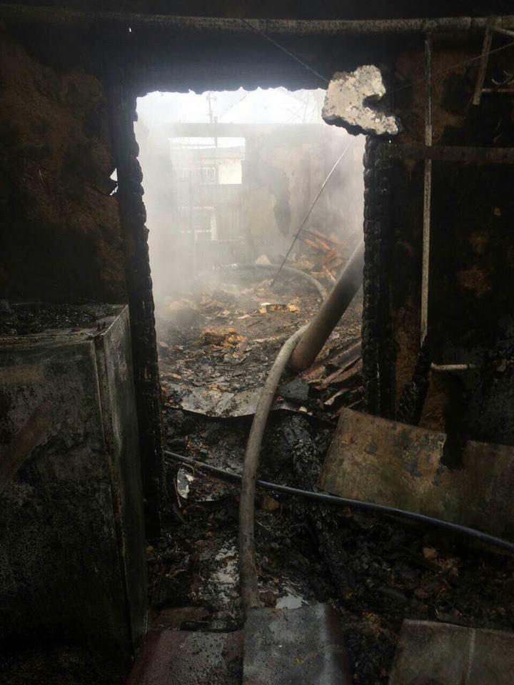 У Дніпрі на Різдво вщент згорів будинок, є загиблий - фото 1