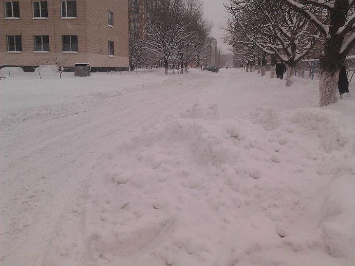 Полтава потерпає від снігопадів - фото 7