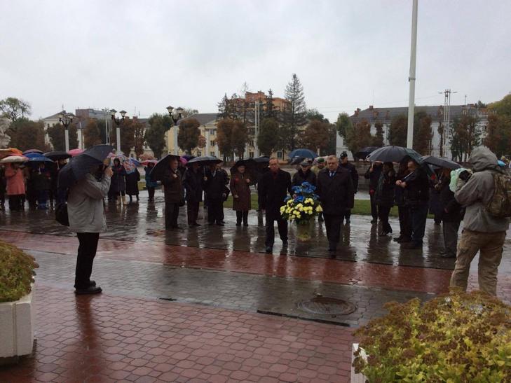 У Хмельницькому вшанували борців за незалежність - фото 1