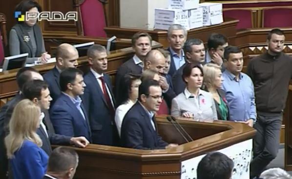 """""""Самопоміч"""" проти виборів на Донбасі і вимагає закон про окуповані території - фото 1"""