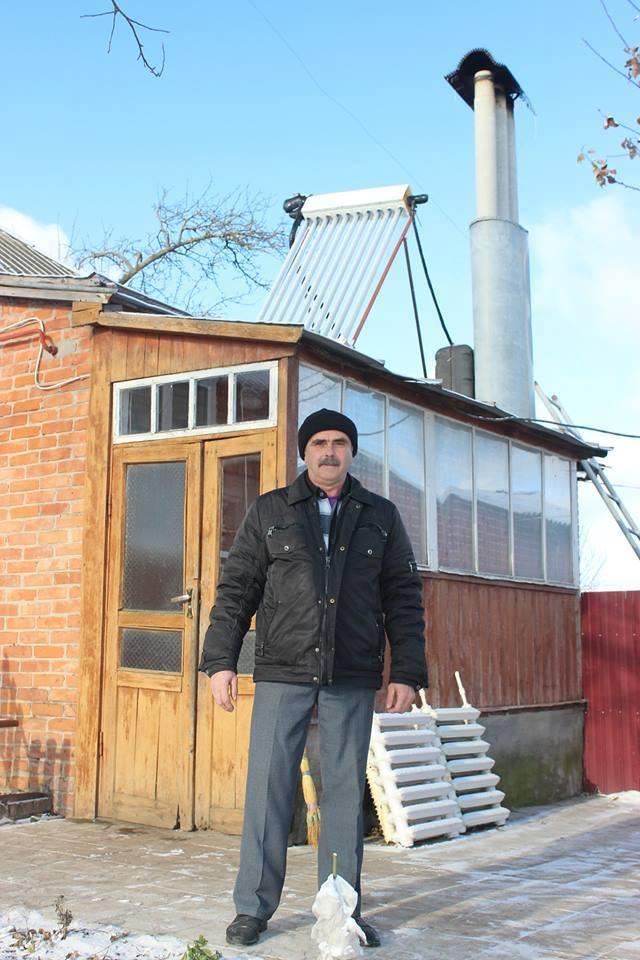 Як сумський тракторист впроваджує енергоощадні технології у своїй хаті - фото 1