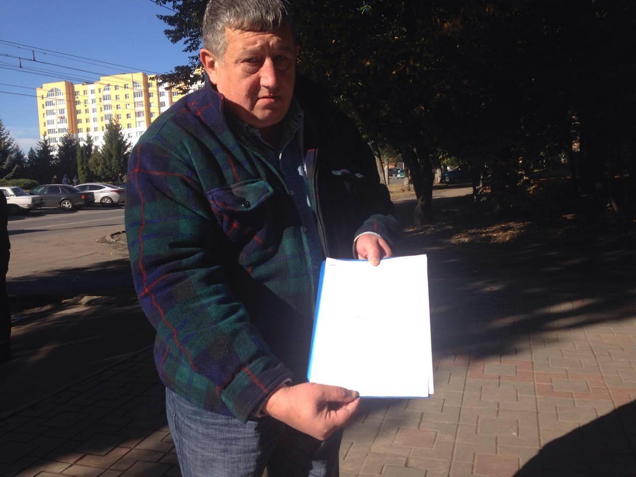 У Хмельницькому активісти від управлінням поліції вимагають звільнення Семенишина - фото 4