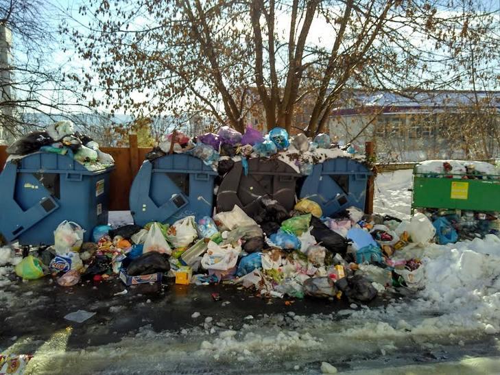 Як сніг оголив сміття Садового у Львові (ВІДЕО, ФОТО) - фото 2